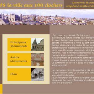 Exercice, visite historique à Poitiers