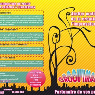 Croquimage, Châtellerault, 2007 – 2008