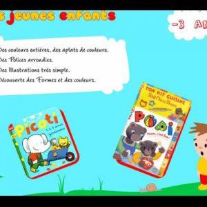 Exercice : etude et recherche des codes graphiques pour la prime enfance.