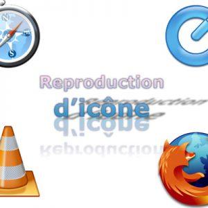 Exercice : Reproduction d'icônes du web.